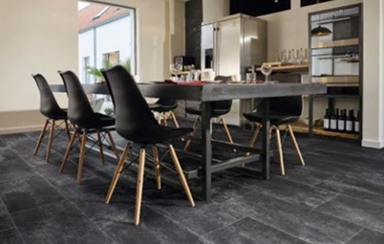 Vinyl tile designs provide the look of a stone tile floor but are softer and warmer underfoot, easy to maintain and more affordable. We have a wide range of samples to choose from in various colours and styles.
